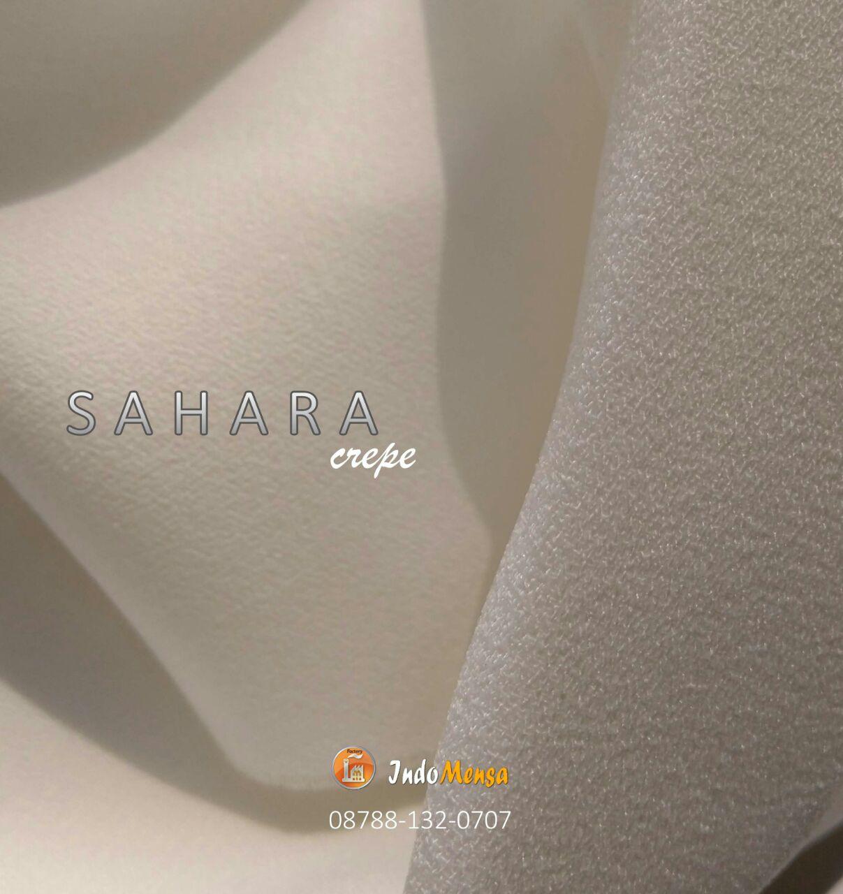 Bahan Kain Sahara Crepe